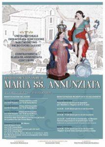 Festeggiamenti in onore di Maria SS. Annunziata - Centuripe - en