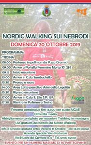 Nordic Walking sui Nebrodi - Troina